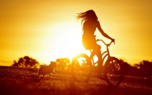 girl-bike-dog-mood